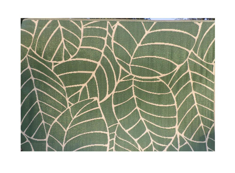 CLEARANCE Fab Rugs LEAF 150x210cm Outdoor Indoor