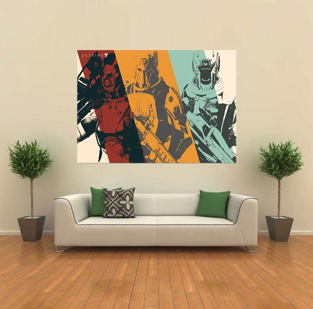 Destiny pc xbox ps3 game giant wall poster art print k010 for Giant wall art