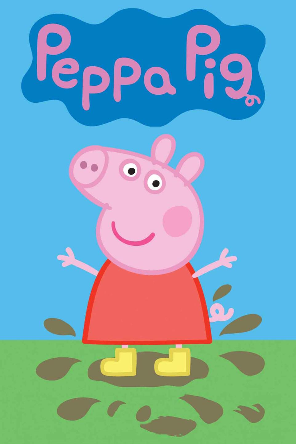 Peppa Pig Bedroom Peppa Pig Kids Bedroom Poster Gift Ideas Sizes A4 To A0 M062