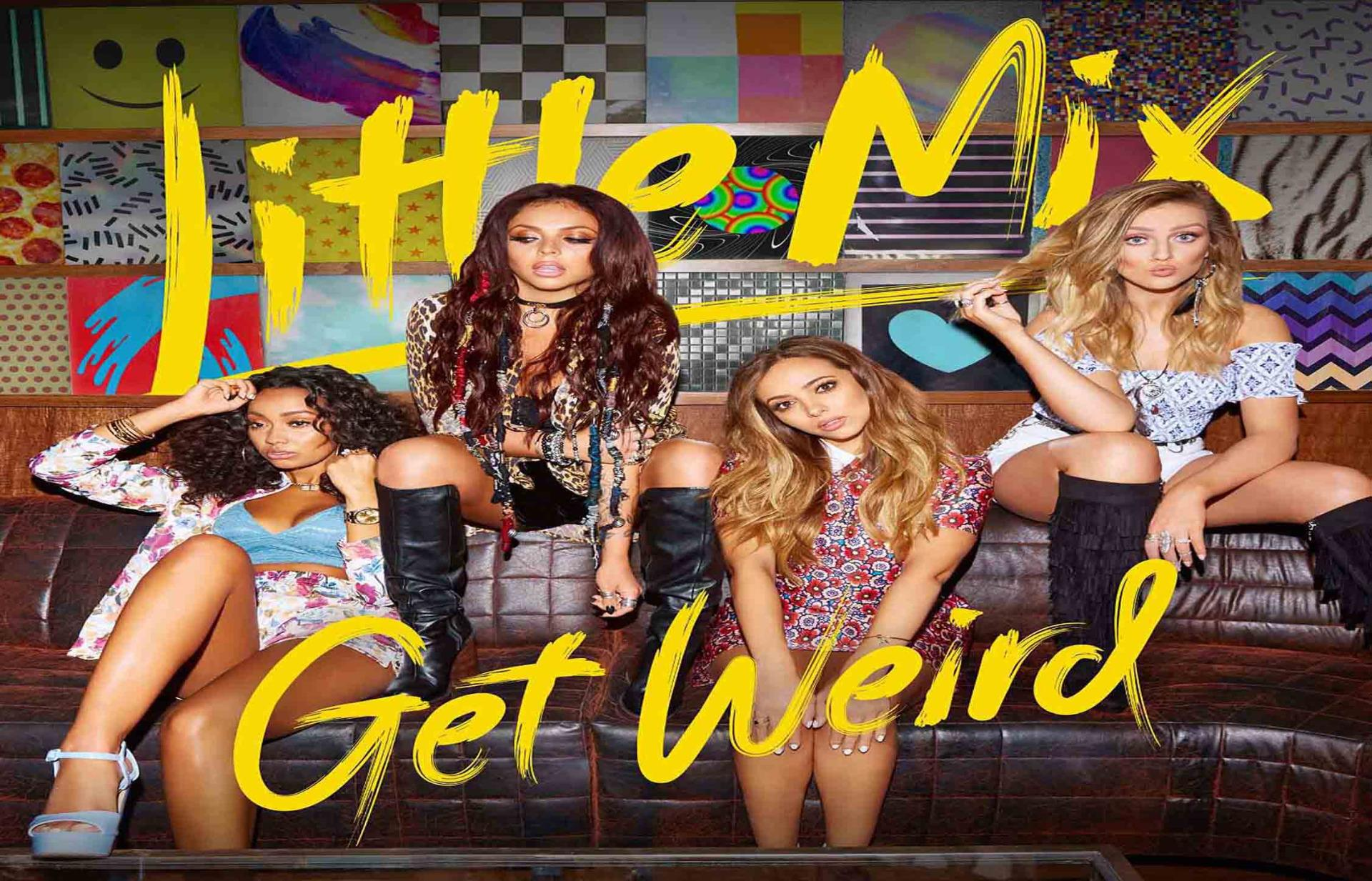 little mix get weird deluxe album cover poster sizes a4