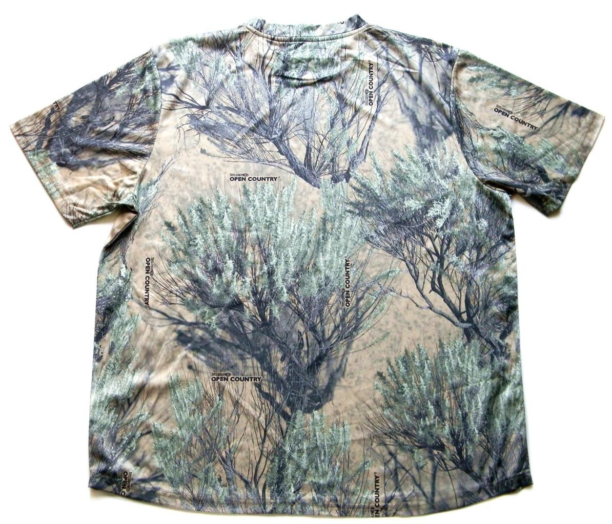 New cabela 39 s performance camo tee shirts quick dry for Cabela s columbia shirts