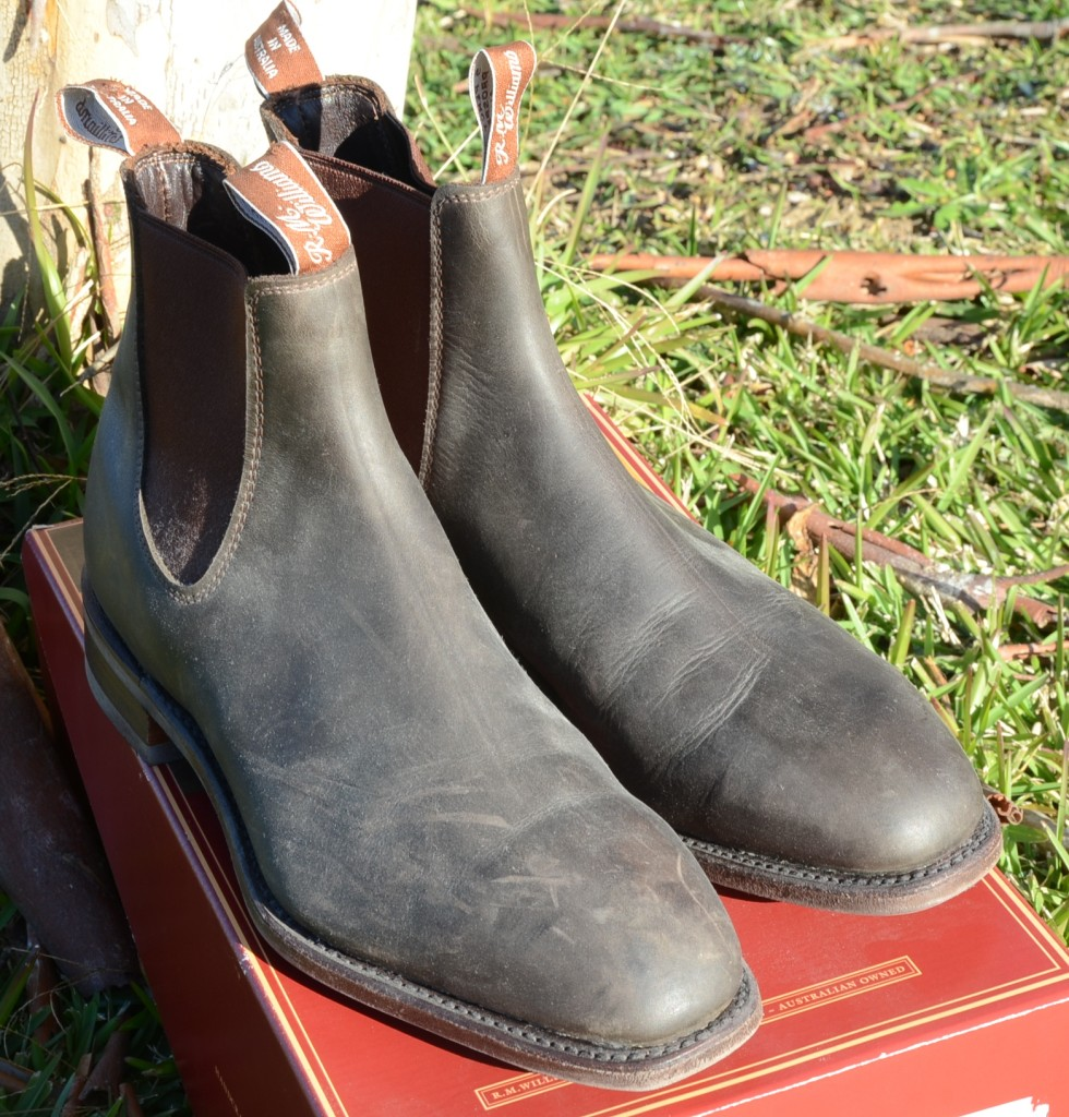 RM Williams Comfort Craftsman Boots Greasy Kip Leather 10 ...