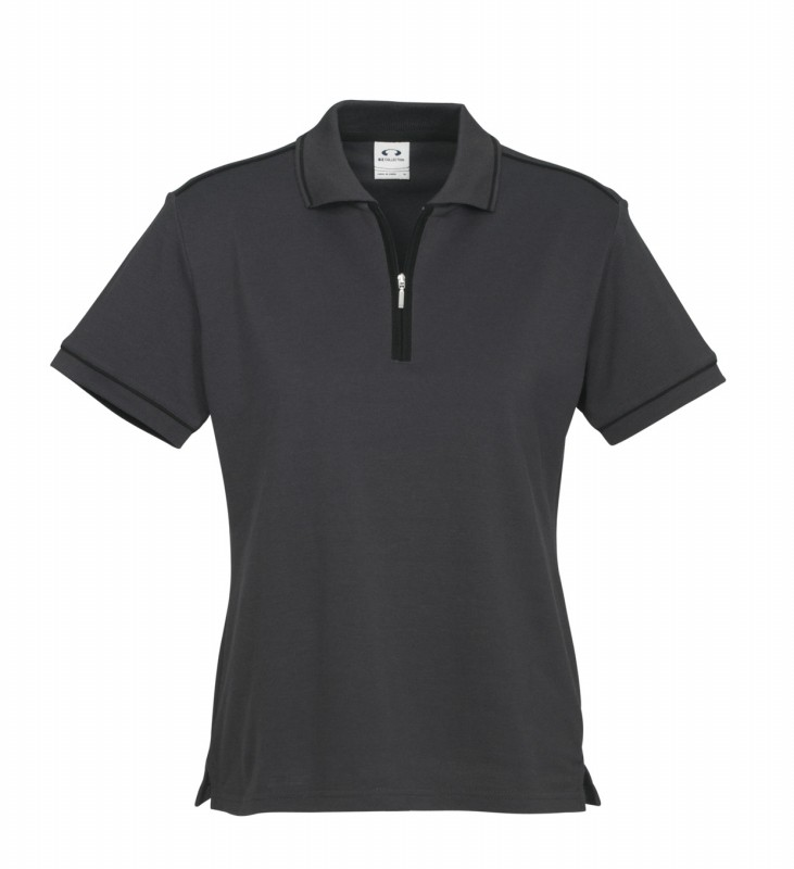Ladies heritage polo shirt top business casual corporate for Business casual polo shirt