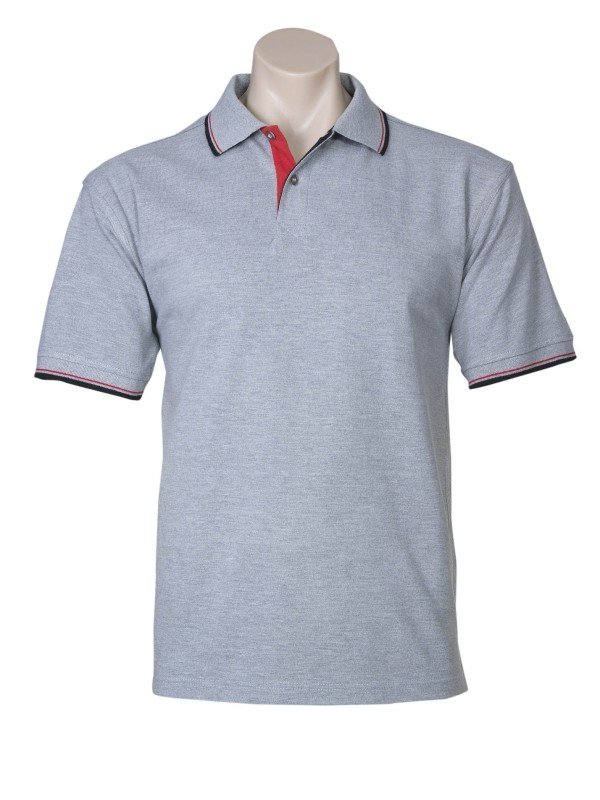 Mens nautlus polo shirt 100 cotton top casual sports for Business casual polo shirt