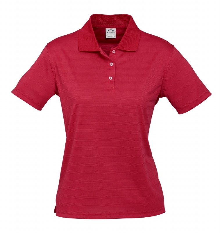Ladies icon polo shirt business casual office size 8 24 for Business casual polo shirt