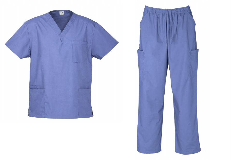 Ladies nurse doctor vet hospital uniform cargo pant top new ebay