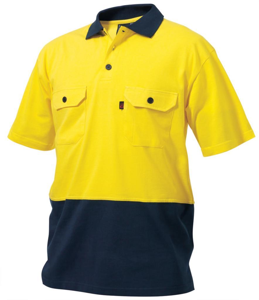 Cotton High Visibility Polo Shirt