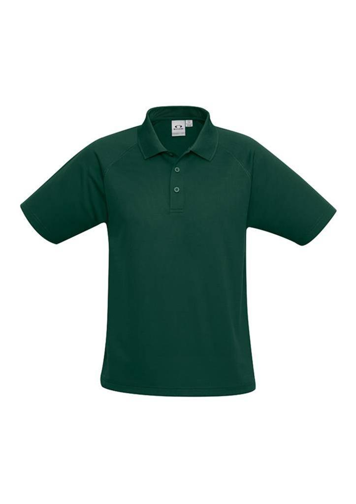 Kids-Sprint-Polo-Shirt-Boys-Girls-Size-4-6-8-10-12-14-16-School-Uniform-P300KS