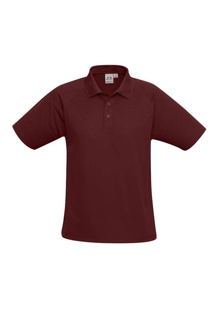 Kids-Sprint-Polo-Shirt-Boys-Girls-Size-4-6-8-10-12-14-16-School-Uniform-P300KS