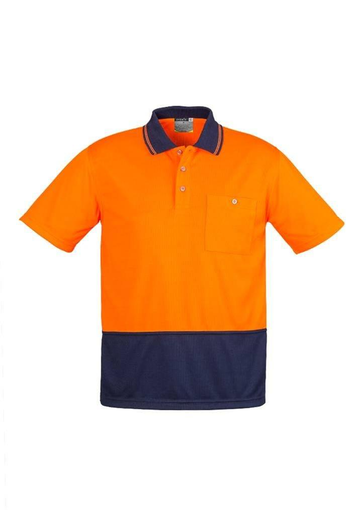 3 pack unisex basic hi vis safety work polo shirt mens for Mens work polo shirts