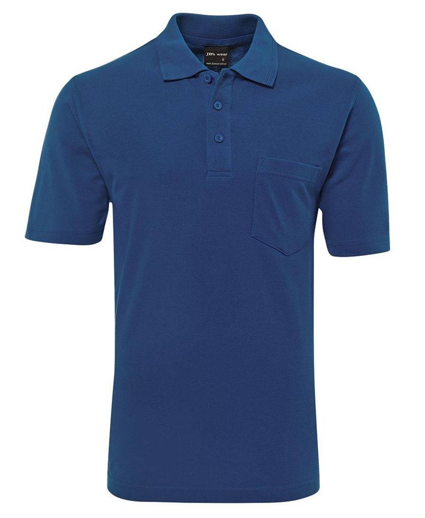 10 x Mens Pocket Polo Shirt Adults Classic Fit Casual 7 ...