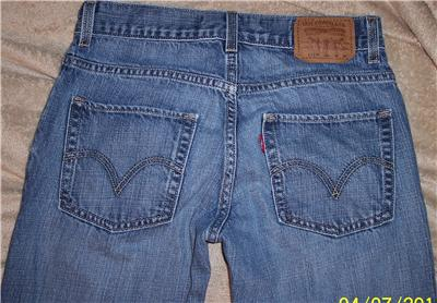 Youth Boys Levis 511 Red Tag Skinny Jeans Size 16 Reg 28x28