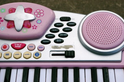 Childrens Pink Piano Musical Instrument Keyboard Music