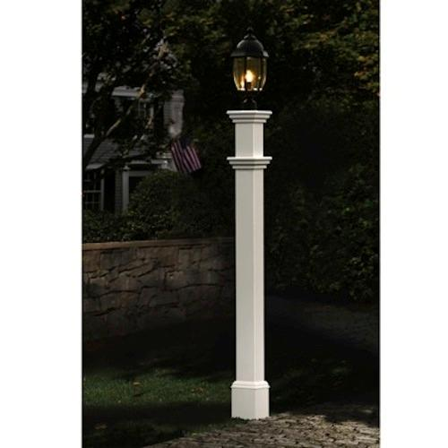 pin vinyl lamp post new england arbors madison weather resistant vinyl. Black Bedroom Furniture Sets. Home Design Ideas