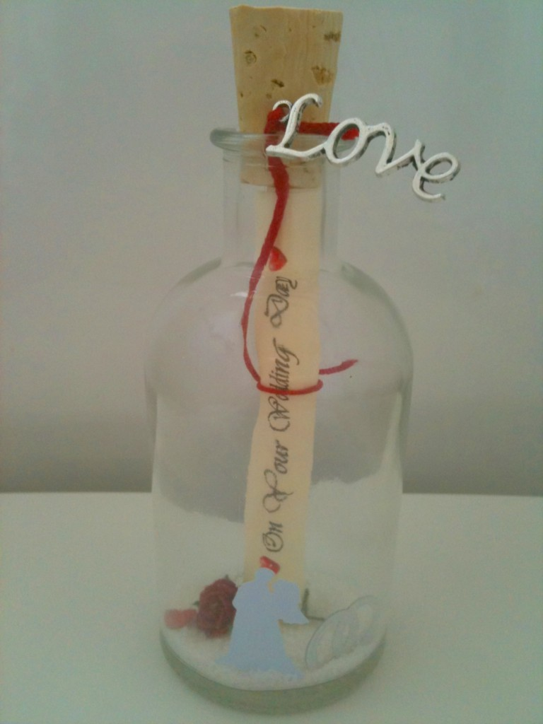 A Personalised Wedding Gift Message : PERSONALISED-WEDDING-DAY-MESSAGE-IN-A-BOTTLE-POEM-GIFT-PRESENT-CARD ...