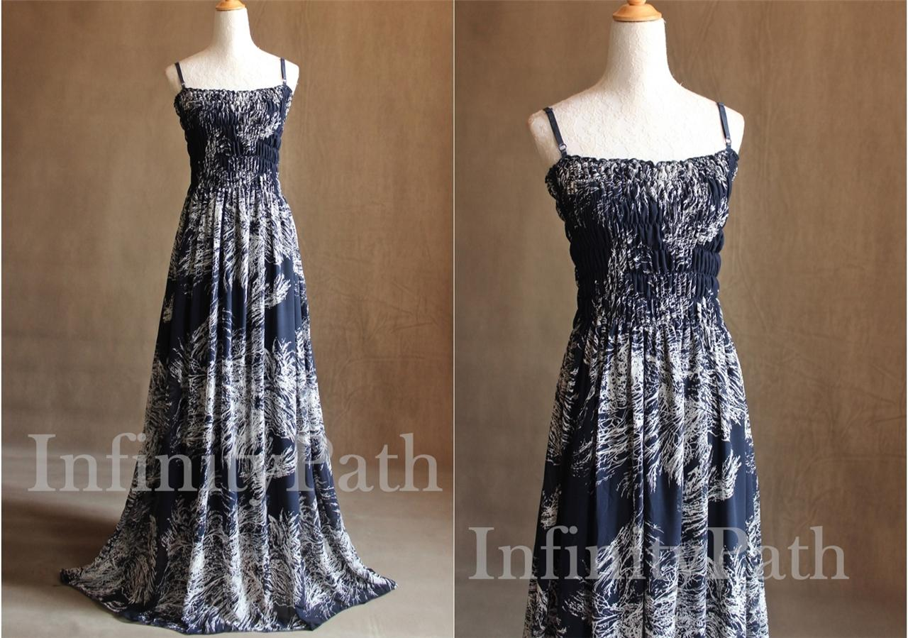 Navy wedding party guest dresses tall woman outfit maxi for Wedding dresses for tall plus size