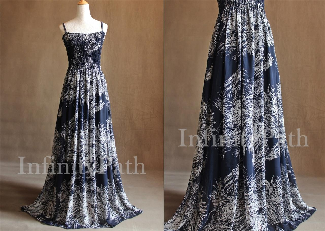 Navy wedding party guests dresses tall women outfit maxi for Wedding dresses for tall plus size