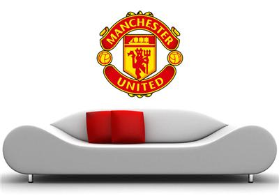 huge manchester united wall sticker removable huge soccer paul pogba manchester united man u football player decal
