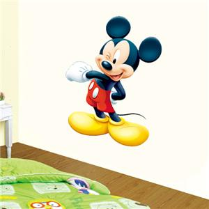 MICKEY MOUSE wall sticker Vinyl Huge Repositionable 4 Kids Home Decor
