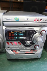 JVC XV-M50BK 3-disc DVDCD changer at m