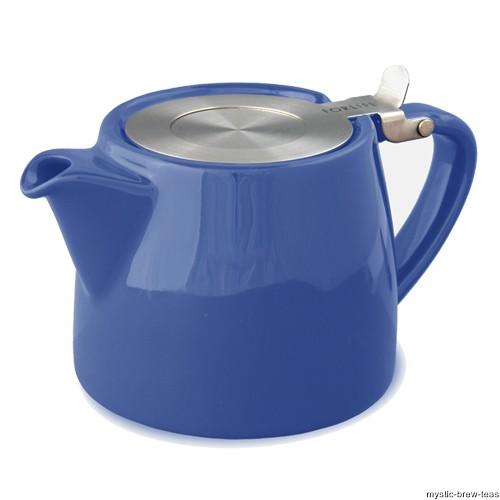suki marine blue teapot 100 grams of loose leaf tea ebay. Black Bedroom Furniture Sets. Home Design Ideas