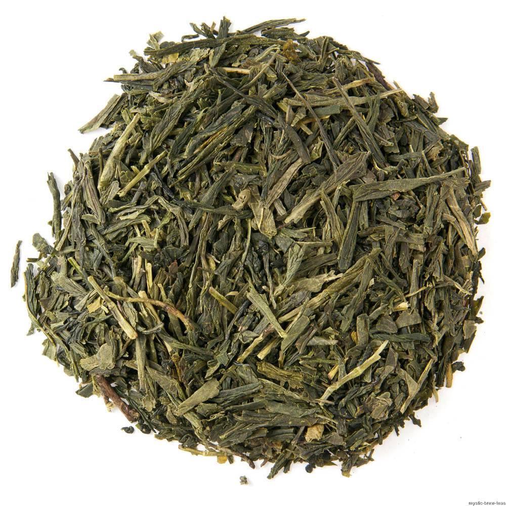 Sencha loose leaf green tea