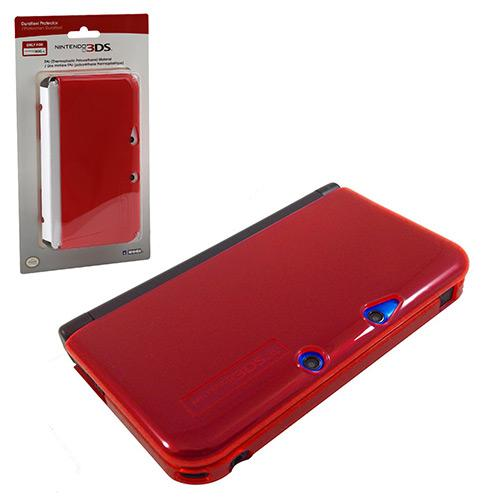 hori 3ds xl duraflexi protector case red blue clear mario. Black Bedroom Furniture Sets. Home Design Ideas