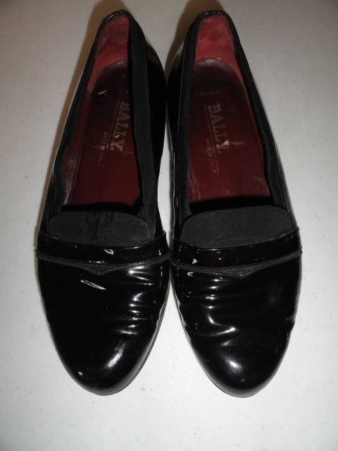 bally banner patent leather mens dress formal tuxedo shoes