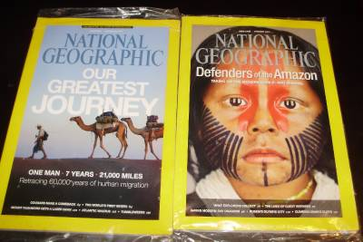 Details about National Geographic Magazines-Mint Plastic-Dec/13 & Jan