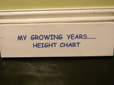 Height Chart Inches