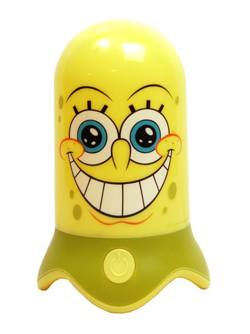 New-Girls-Boys-Spongebob-SpiderMan-Minnie-Mouse-Colour-Changing-Led-Night-Light
