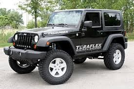 Lifted Jeep Wrangler 2 Door