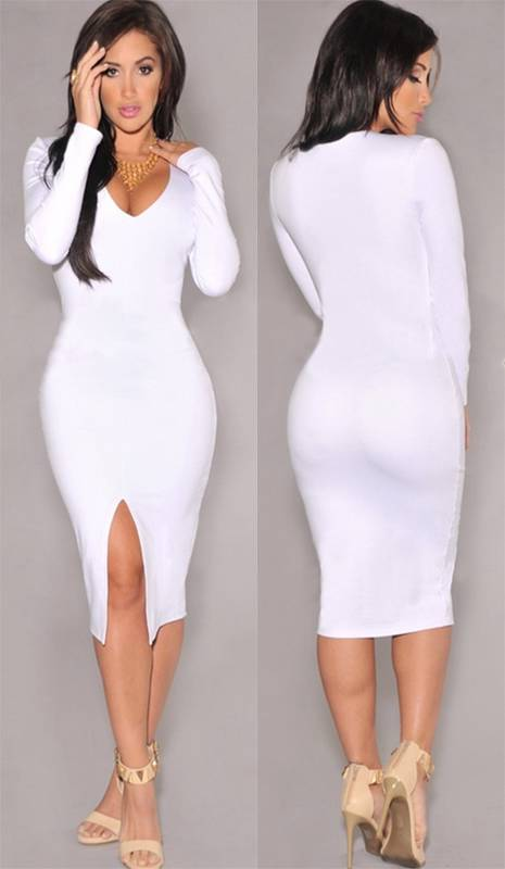 Tight White Dresses