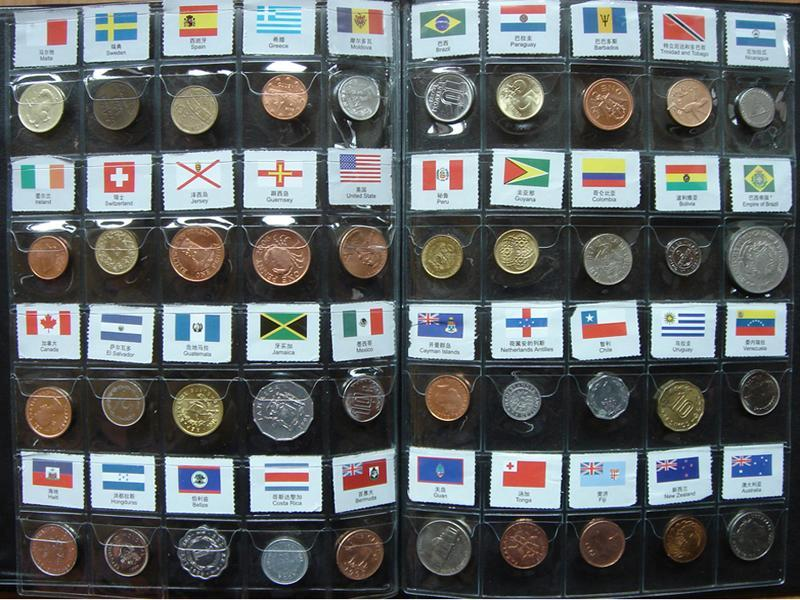 120 Different Collection World Coins from 120 Countries Regions ...