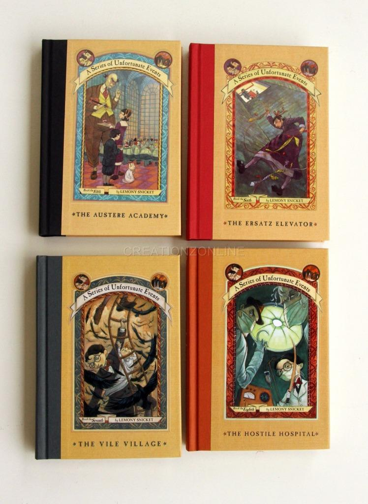 Lemony snicket a series of unfortunate events complete box for Bureau 13 book series