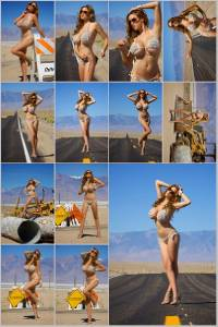 Sexy Jordan Carver Set Of 12 - 4 x 6  Photos - Road Sign 13-24