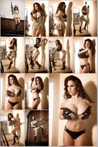 Sexy Jordan Carver Set Of 12 - 4 x 6  Photos - Sheriff 1-12