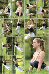 Sexy Jordan Carver Set Of 12 - 4 x 6  Photos - Yoga 1-12