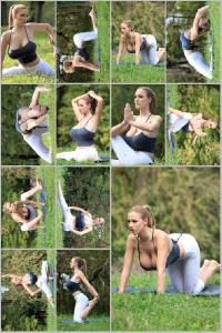 Sexy Jordan Carver Set Of 12 - 4 x 6  Photos - Yoga 13-24