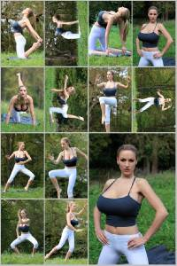 Sexy Jordan Carver Set Of 12 - 4 x 6  Photos - Yoga 25-36