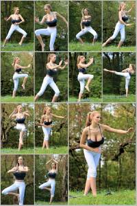 Sexy Jordan Carver Set Of 12 - 4 x 6  Photos - Yoga 33-44
