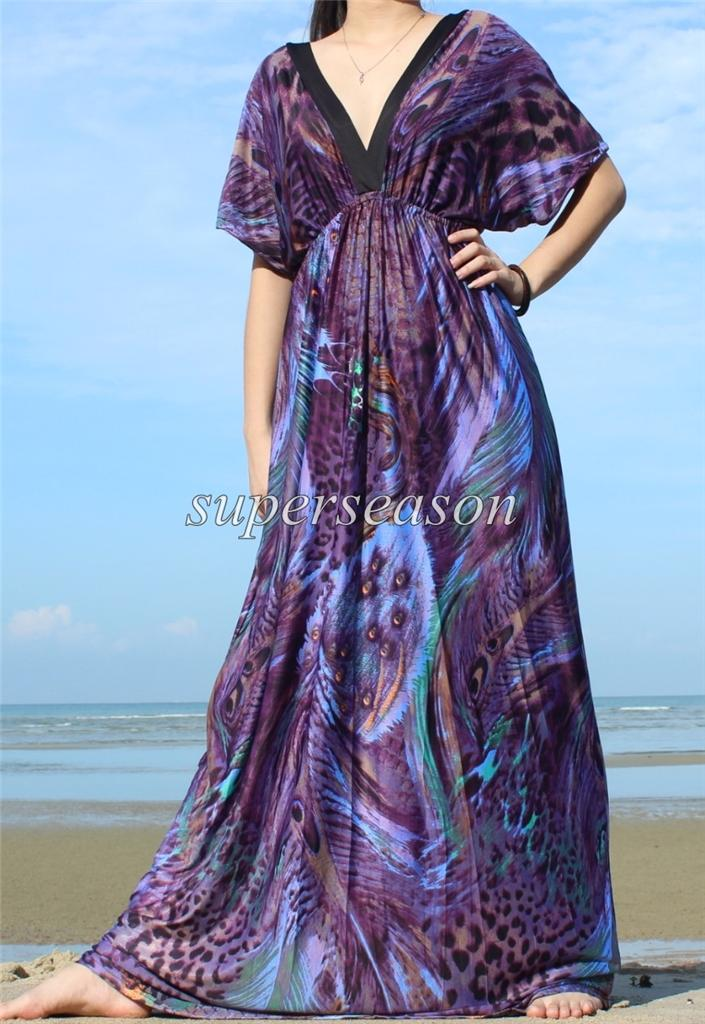 New plus size purple wedding formal prom hot long evening for Purple maxi dresses for weddings