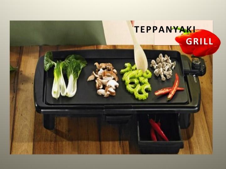 TEPPANYAKI GRILL ELECTRIC PORTABLE BBQ NON STICK HOT