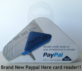 how to use paypal swipe