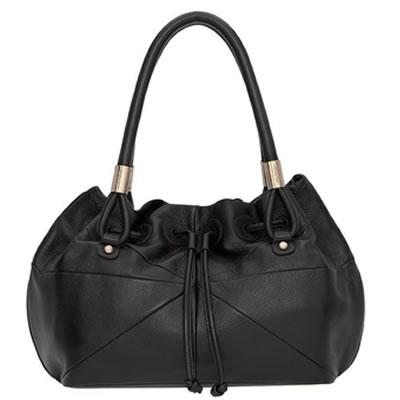 New-Oroton-Linea-Black-Leather-Hobo-Ladies-Tote-Bag-Shoulder-Handbag-Rrp-695