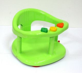 new baby bath tub ring seat keter blue green color worldwide shipping ebay. Black Bedroom Furniture Sets. Home Design Ideas