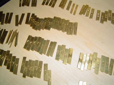 gravograph condensed block brass engraving letters 5 16 35 With brass engraving letters