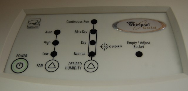 Whirlpool Gold Accudry Dehumidifier Energy Star Model No  Ad50uss2 50 Pt