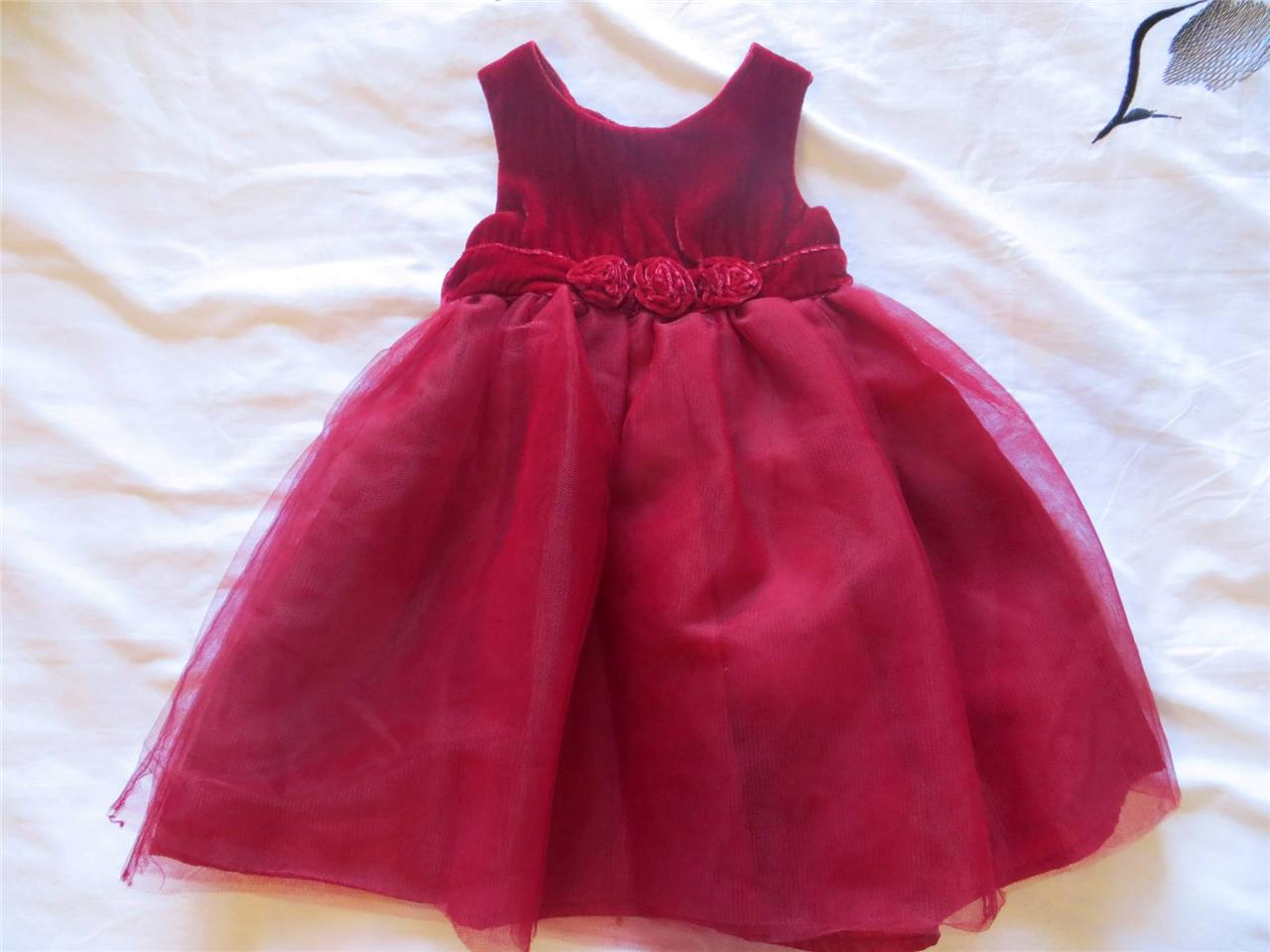 Gymboree baby girl holiday christmas winter dress 12 18 months ebay
