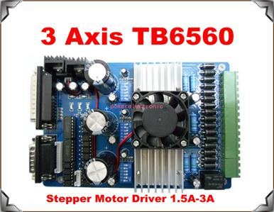 4 axis stepper motor driver controller a3977 peersoft 4 axis stepper motor controller